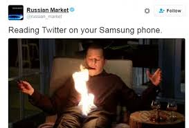 Galaxy Phone Meme - samsung galaxy note 7 mocked on twitter after company axes