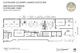 tour the kitchen floor plan cleveland culinary launch