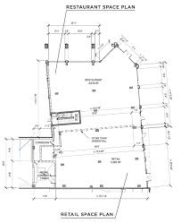 retail space floor plans novel lucerne mixed use project is leasing restaurant u0026 retail space