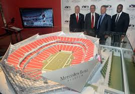 Atlanta Plan Source by Mercedes Benz On Target With Superlative About Atlanta Stadium