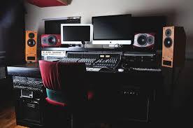Audio Studio Desk by Music And Post Production Audio Specialists Regen Studio