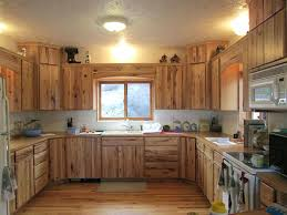 knotty hickory cabinets kitchen hickory kitchen cabinets kitchen design pictures rustic hickory
