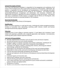 Coordinator Resume Examples by Sample Event Coordinator Resume 7 Documents In Pdf