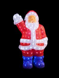 Christmas Garden Decorations Reindeer by Light Up Acrylic Santa Snowman Reindeer Christmas Outdoor Indoor