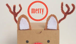 christmas gift box ideas reindeer make these christmas gift boxes
