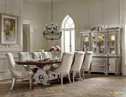 white dining room set vintage white dining chairs antique round table set inside room sets