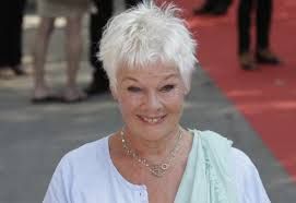 judi dench hairstyle front and back of head there s nothin like a dame judi dench talks about maggie benedict