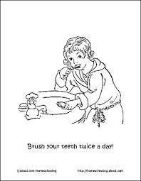 Dental Health Word Search Printables Brushing Teeth Coloring Pages