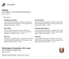 Resume Summary Examples Engineering by How To Build A Killer Linkedin Profile Udacity