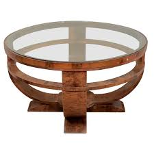 Art Deco Coffee Table by Coffee Table Rustic Meets Elegant In Art Deco Glass Coffee Table