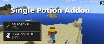 Minecraft Blindness Potion Single Potion Addon Minecraft Pe Mods U0026 Addons