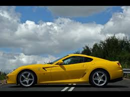 gold ferrari wallpaper 2009 ferrari 599 gtb fiorano handling gte package side