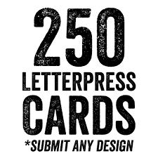 letterpress business card sale dolce press