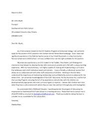 cover letter for early childhood educator cover letter