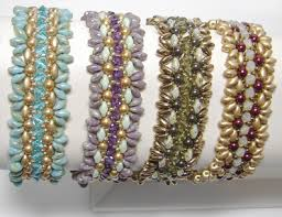 around the beading table bracelet