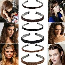 braid hairband 2018 wholesale hot selling rubber hairband rope ponytail holder