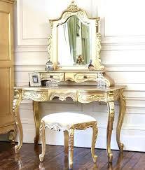 mirrored makeup vanity table gold vanity desk best dressing table mirror ideas on vanity table