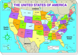 map of us us map without states labeled united states map with states and