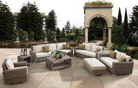 patio 34 rattan outdoor patio furniture cushions with red