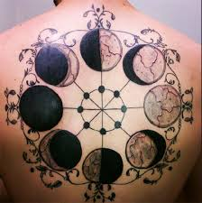 la luna full moon tattoo in 2017 real photo pictures images and