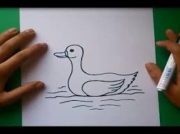 hola como puedo hacer unas alas de pato para nia de 4 como dibujar un pato paso a paso 2 how to draw a duck 2 youtube