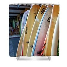 Surfer Shower Curtain El Salvador Shower Curtains Fine Art America