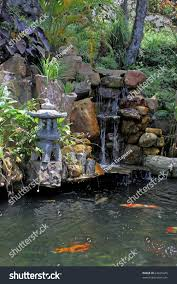 according chinese believes that koi ponds stock photo 64629445