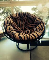 Papasan Chair Cushion Cover Oooo Zebra Papasan Chair Pieroneimports My Home To Be