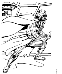 star wars darth vader coloring page get coloring pages