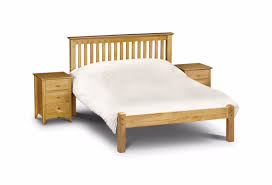 Bed Frames Montreal Montreal Bed Frame Solid Pine Antique Finish Low Foot End
