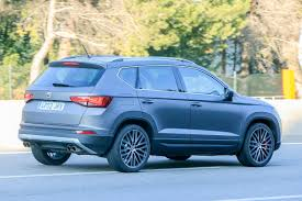 seat ateca blue 300bhp seat ateca cupra in the works exclusive pictures seat