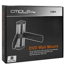 Cable Management System For Wall Mounted Tv Adjustable Dvd Set Top Box Silver Black Wall Mount