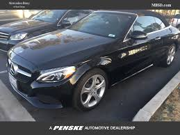used mercedes convertible 2017 used mercedes benz c class c 300 4matic cabriolet at mercedes