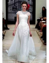 wedding dresses with soft sleeves from spring 2012 bridal fashion