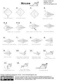 how to fold a simple origami mouse tavin u0027s origami wonderhowto