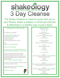 All About The Shakeology 3 Day Cleanse By Beachbody