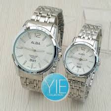 Jam Tangan Alba Putih jual jam tangan alba rantai putih yororo