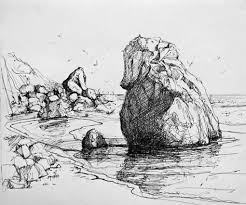 how to sketch realistic rocks google search how to draw