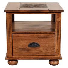 Oak End Tables Designs Sedona End Table Walmart