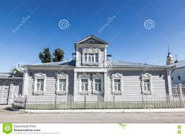 russische architektur traditionelle russische architektur haus mit mezzanin im kolomna