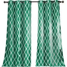 Green And Beige Curtains Modern Contemporary Emerald Green Curtains Allmodern