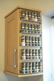 sliding spice rack for cabinet slide out spice cabinet interesting kitchen cabinet pull out spice