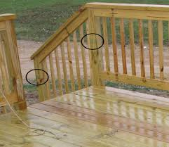 wooden deck spindles deck lowes deck for looks nice and