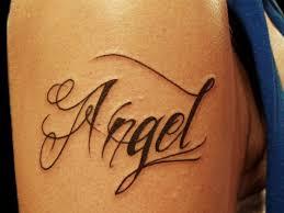 cool positivity word side tattoo creativefan