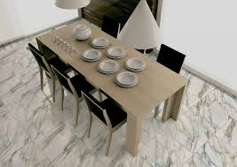 tile in dining room interior modern calacatta marble floor tile for dining room