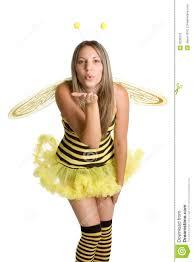 Bee Halloween Costume Bee Halloween Costume Royalty Free Stock Photo Image 3035375