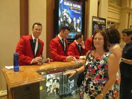 Las Vegas Photo Album Band Autographing Their Album After The Show Picture Of Human