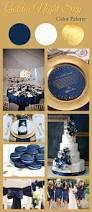 navy blue u0026 gold wedding color palette night skies white gold