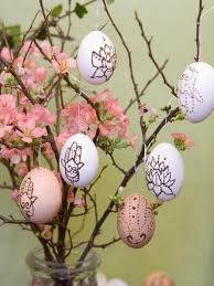 Easter Egg Decorations For Tree by Handmade Easter Tree Decorations Offer Stunning Alternatives To