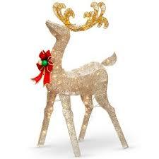 christmas decorations reindeer wicker nifty 52ba3f3612
